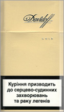Davidoff Super Slims Gold Cigarette Pack