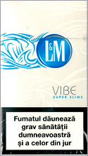 L&M VIBE Super Slims Cigarette Pack