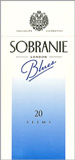 Sobranie Slims Blues 100's Cigarettes pack