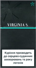 Virginia S. Menthol Super Slims 100's Cigarettes pack